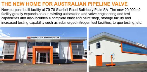 Australian Pipeline Valve - News Flash