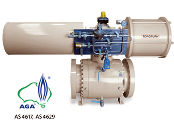 Australian Pipeline Valve - Valve Actuator Supplier